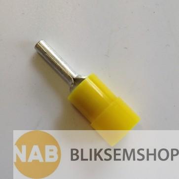 Geïsoleerde draadpen 4-6mm² L=10mm, verpakking à 50 stuks