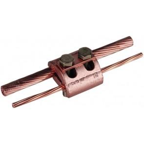 Parallelklem (koper) t.b.v. 2 x 16mm² t/m 95mm²