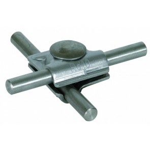 Aluminium multiklem 8-10 mm.