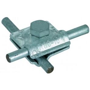 Staal verzinkte multiklem 8-10 mm.