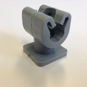 Duplohouder 10mm met draad M8 + bodem