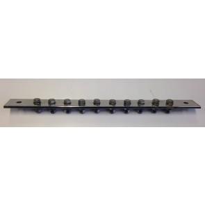 Potentiaal vereffeningsrail L=400mm incl. bouten en moeren