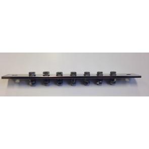 Potentiaal vereffeningsrail L=300mm incl. bouten en moeren