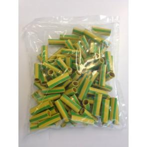 Tule A4 groen/geel
