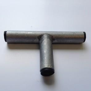 T verbinder (aluminium)